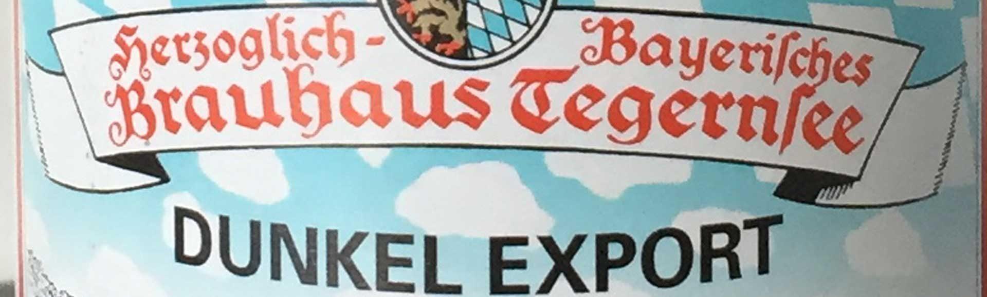 Dunkel Export fra Herzogliches Bräustüberl Tegernsee